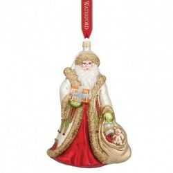 Waterford Holiday Heirlooms 2015 Nostalgic Special Delivery Santa Ornament