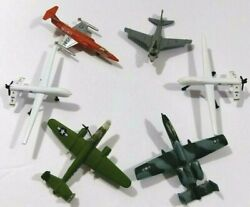 Maisto Diecast Lot Of 6 Fighter Bomber Fighter Aircraft Airplanes Toy