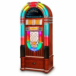 Crosley Cr1215a-wa Jukebox Digital Led With Bluetooth And Stand