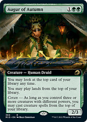 Augur of Autumn EXTENDED Innistrad: Midnight Hunt NM M PREORDER