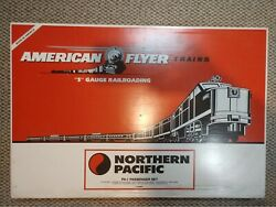 American Flyer Northern Pacific Pa-1 Complete Brand New Set 6-49602 S Scale