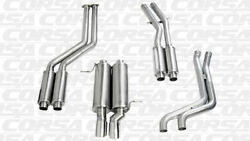 Corsa 2.25 Single Rear Cat-back Exhaust 1999-2006 Bmw 328i/is E46 Coupe