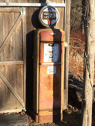 Gilbarco 96 Vintage Mid To Early 1900and039s Gas Pump