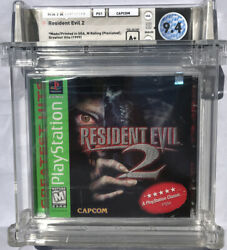 Sealed Wata 9.6 A+ Ps1 Resident Evil 2 [greatest Hits] Playstation One, 1998