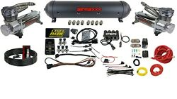 Level Ride Pressure Only Airmaxxx Chrome 480 Air Management W/complete Wire Kit