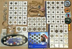 Junk Drawer Estate Cleanout Sale With Silver Coins And Costume Jewelry H