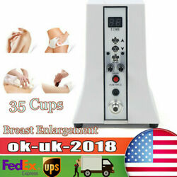35cup Breast Enhancement Butt Lifter Vacuum Therapy Hip Lifting Massage Machine