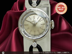 Omega Ref.at611.56 Vintage Cal.483 2p Diamond Pt Manual Winding Womens Watch