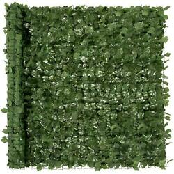 Faux Ivy Privacy Screen Fence Realistic Looking Artificial Leaves Outdoor Decor
