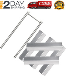 New Stainless Steel Burner And Heat Plate Flavorizer Bar Aftermarket For Web
