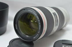 Canon Telephoto Zoom Lens Ef70-200mm F4l Is Ii Usm 5421