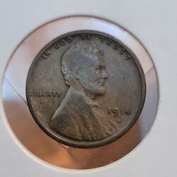1914-s Lincoln Wheat Cent--better Date