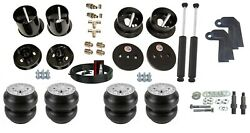 3/8 Front Rear Slam Re-7 Air Ride Suspension Bag And Shock Kit For 61-62 Cadillac