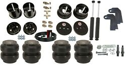 3/8 Front Rear Slam Ss7 Air Ride Suspension Bag And Shock Kit For 61-62 Cadillac