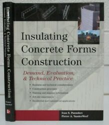 Insulating Concrete Forms Construction Textbook Panushev