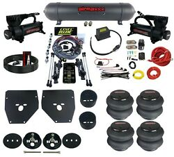 Complete 3 Preset Height Pressure Level Ride Air Suspension Kit Fits 1963-72 C10