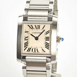 Tank Francaise Sm W51028q3 Womenand039s Watch Stainless/bracelet 14857 Women