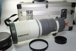 [with 112mm Genuine Filter] Pentax Smc-m 67 400mmf4 Ed If Trunk [tube 942l