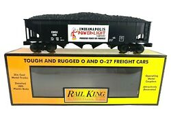 30-75387 Mth Indianapolis Power And Light 12011 4-bay Hopper Car W/coal Load
