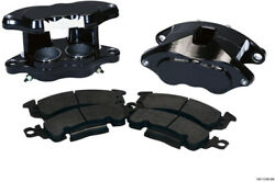 Forged Aluminum Brake Calipers For Gm Muscle Car 2 Ss Pistons Black Calipersl