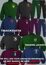 Units M To U Us American Army Navy Air Force Marines Seals Tracksuit