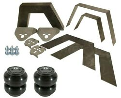 Rear Universal Weld On 8 Frame Step Notch Slam Ss6 Air Bags And Brackets Kit