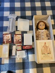 American Girl Doll Felicity Brand New In Box W/ Meet, Book, Stand, Accessories