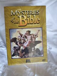 New Aande The Mysteries Of The Bible Collection 7-disc Dvd, 2007 Set 17-hours