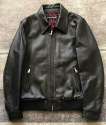 Wacko Maria Riders Jacket Guilty Parties Leather Leopard Pattern Outer M Size