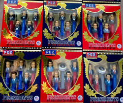 Pez Presidents Of The United States Complete 9 Volume Set