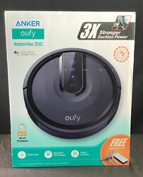 Eufy Robovac 25c Robot Vacuum Cleaner With Wi-fi Connected   New