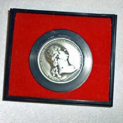 George Washington Before Boston Pewter Revolution America's First Medals