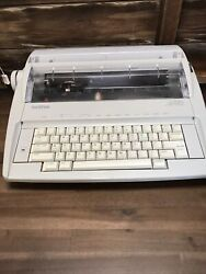 Brother Correctronic Gx-6750 Daisy Wheel Electronic Typewriter Parts Repair
