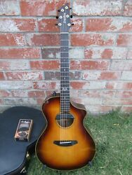 Breedlove Oregon 25th Anniversary Myrtlewood Acoustic Guitar With Emg And Lr Baggs