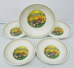 5-piece Pasta Bowl Set, Excl For Himark Italy