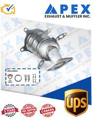 08-09 Ford Taurus X- Lincoln Mks 09-10 Front 3.5l Catalytic Converter Watch Vid