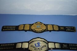 Wwe Winged Eagle Championship Replica Autographed By Big Daddy Cool Diesel