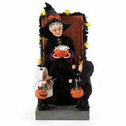 Department 56 Possible Dreams Halloween Mrs. Claus And Trick-or-treaters Boo Lit