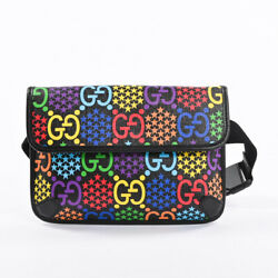 Gg Psychedelic Body Bag 598113 Backpack Pvc Mens
