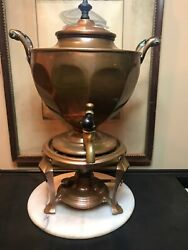 Antique Coffee Percolator. Manning Bowman Co.1914. Pat Nov 8 1904.made Of Copper