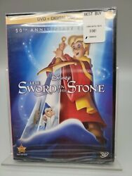 Disney The Sword In The Stone On Dvd And Digital Copy 50th Anniversary Edition