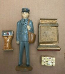 Vintage Letter Carrier Mailman 1937 Kansas City And 1939 Milwaukee Convention Lot