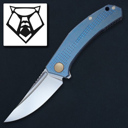 Shirogorov And Sinkevich Collaboration – Jeans Flipper – Vanax 37 Blade –edc Knife