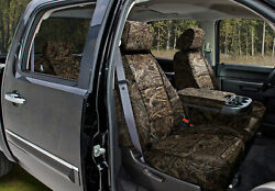 Realtree Max-5 Camo Custom Tailored Seat Covers And Dash Cover For Gmc Sierra