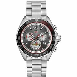 Tag Heuer Caz1016.eb0058 Formula 1 43mm Menand039s Chronograph Stainless Steel Watch