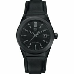 Tag Heuer Wbg1313.ft6117 Carrera 36mm Womenand039s Black Rubber Leather Watch