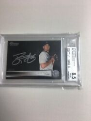 2012 Bowman Black Collections Autos /25 James Paxton Bgs 8.5/10 Rc 6075