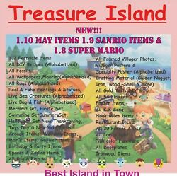 New 1.11 Animal Crossing Treasure Island Unlimited Trips loot Refill Every Trip