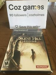 Silent Hill Origins For The Ps2 Brand New And Sealed Black Label Usa Ntsc Rare