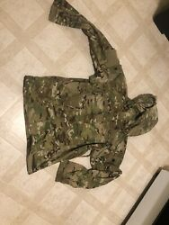 New Army Ocp Multicam Level 5 Soft Shell Jacket Cold Weather Top - Small Short